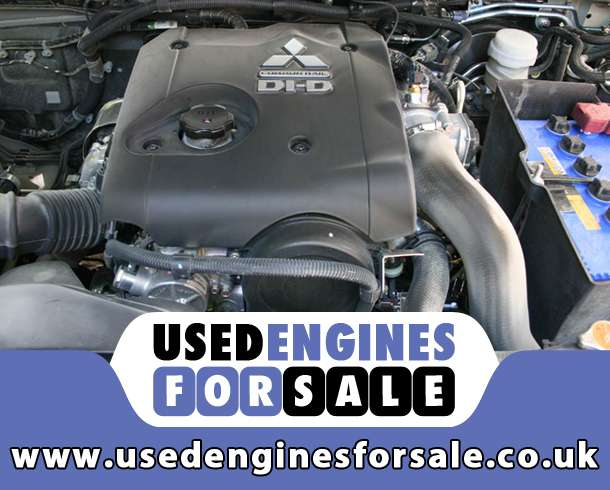 Reconditioned Engine For Mitsubishi L200 Diesel