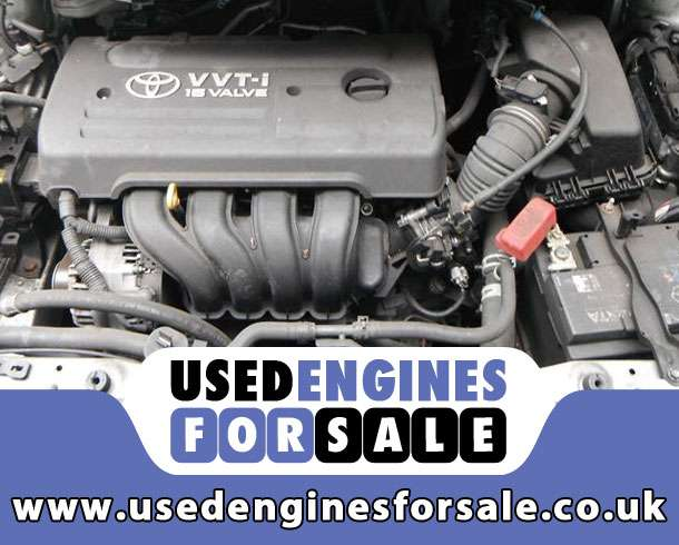 Reconditioned Engine For Toyota Auris Petrol