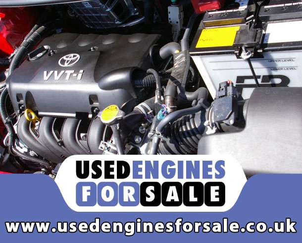 Reconditioned Engine For Toyota Yaris Petrol